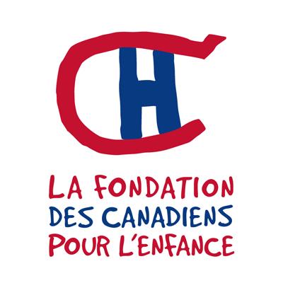 fondation des canadiens pour lenfance logo francais